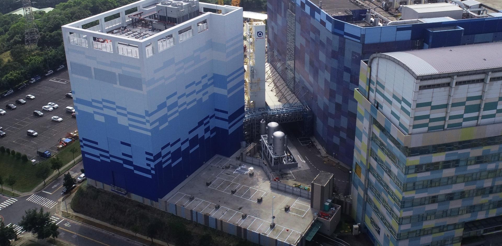 華亞科停車場及氮氣廠土建工程