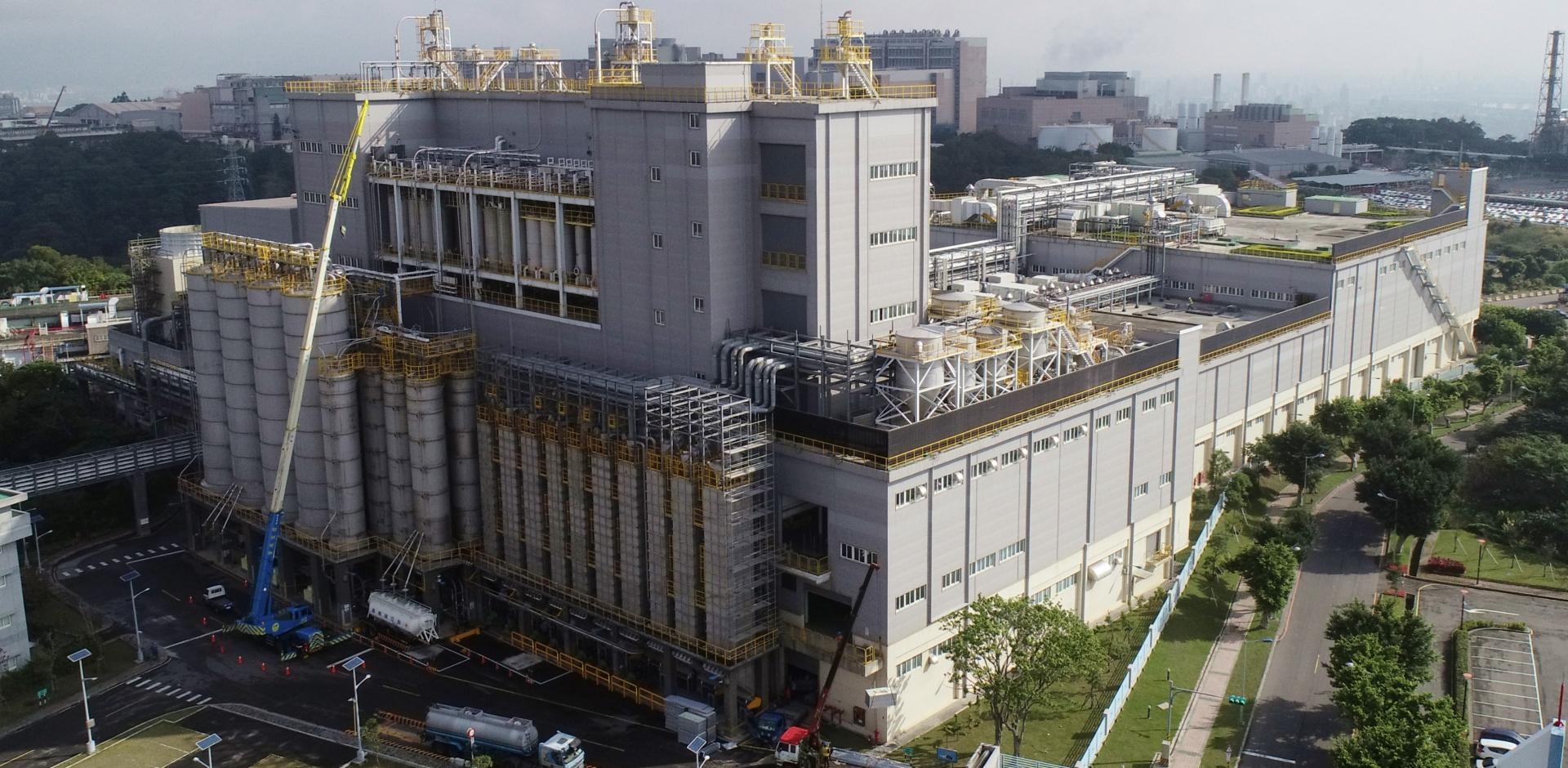 製膜二廠PBF-6,7廠房土建工程